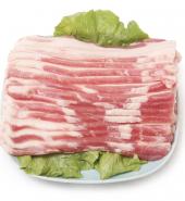 五花肉 切片, 1-1.3磅