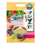 台湾三点一刻 冲绳黑糖奶茶 15包入 300g