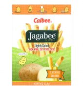 日本CALBEE卡乐B JAGABEE薯条先生 淡盐原味 113.4g