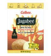 日本CALBEE卡乐B JAGABEE薯条先生 酱油黄油味 113.4g