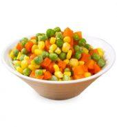 混合蔬菜粒 胡萝青豆玉米粒