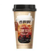 香飘飘 黑糖双拼珍珠奶茶 珍珠果+红豆 王俊凯代言3杯