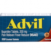 Advil Pain Fever Reliever 100