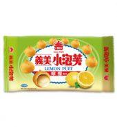 義美小泡芙 柠檬 盒171g