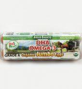 ECO Meal Omega-3有机鸡蛋jumbo 盒 12个