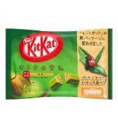日本NESTLE雀巢 KITKAT 夹心威化巧克力 抹茶味 147g 袋