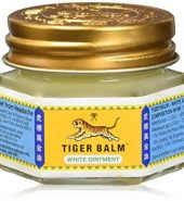 TIGER BALM WHITE REGULAR STRENGTH PAIN RELIEVING OINTMENT 虎標萬金油 白 18g