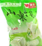 味全水饺 山东手艺 猪肉韭菜 包