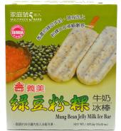 义美 绿豆粉粿牛奶冰棒 5支入