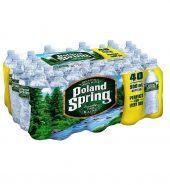Poland Spring矿泉水箱, 40瓶