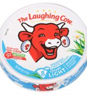 The Laughing Cow Light Creamy Swiss Spreadable Cheese 50%脂肪奶酪
