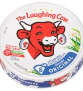The Laughing Cow Original Creamy Swiss Spreadable Cheese 奶酪