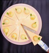 桃子水晶慕斯 单片