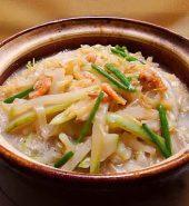 虾米节瓜粉丝煲