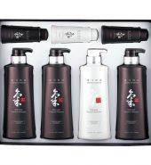 DOORI Daeng Gi Meo Ri Ki Gold Premium Special Hair Care 4pcs Set, 康琦墨丽 气修复洗发水套装 多送一瓶, 500ml*4pcs