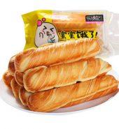 乐锦记 乳酪软心棒面包 380g