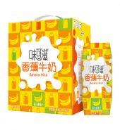 味可滋 香蕉牛奶 240ml*12瓶