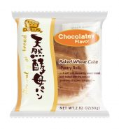 日本D-PLUS 天然酵母持久保鲜面包 巧克力味 2个