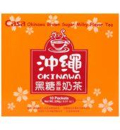 台湾CASA卡萨 冲绳黑糖风味奶茶 250g*10包