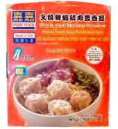 嘉嘉 叉烧鲜虾猪肉云吞面 227g*2盒