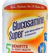 Glucosamine Super with White Willow Bark & Curcumin, 120 Tablets 氨基葡萄糖 120粒