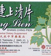 Great Wall Brand Huang Lien Shang Ching Pien 96 Tablets 长城牌 黄连上清片, 12瓶 x 8片