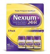 Nexium Brand 24HR Acid Reducer, Delayed-Release Capsules, 3 Pack, 42 Ct 减酸剂, 治疗频發的胃灼热