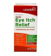Leader Antihistamine Eye Drops Solution, Sterile Eye Itch Relief (0.17 fl oz) 缓解眼痒, 抗组胺滴眼液 (5 mL)