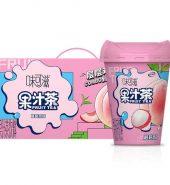 伊利 味可滋 果汁茶 桃桃荔枝 250ml*8