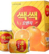 乐天Lotte 粒粒橙 水果饮料 238ml*12罐