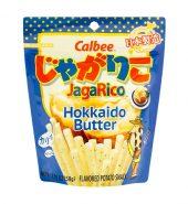 日本CALBEE卡乐比 JAGARICO 土豆脆棒 北海道奶油口味 58g