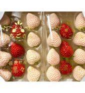 日本草莓 双色 箱装2盒