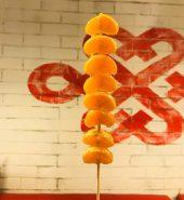橘子 冰糖葫芦 串