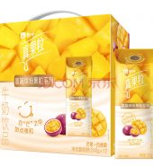蒙牛 真果粒 牛奶饮品 芒果+百香果 240g*10