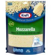 kraft mozzarella  shredded cheese 奶酪 226g