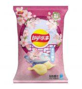 乐事 春季限定 樱花米酿味 薯片 60g